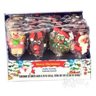 jelly candy santa claus